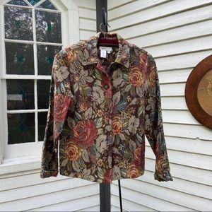 Vtg Tapestry Jacket